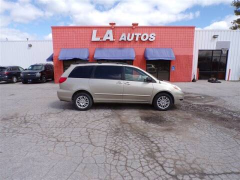 2010 Toyota Sienna for sale at L A AUTOS in Omaha NE