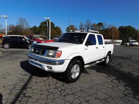 2000 Nissan Frontier for sale at Paniagua Auto Mall in Dalton GA
