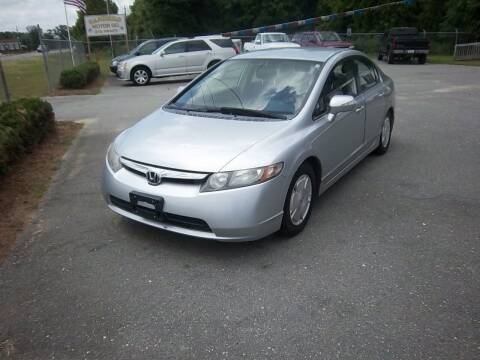2007 Honda Civic for sale at Sanders Motor Company in Goldsboro NC