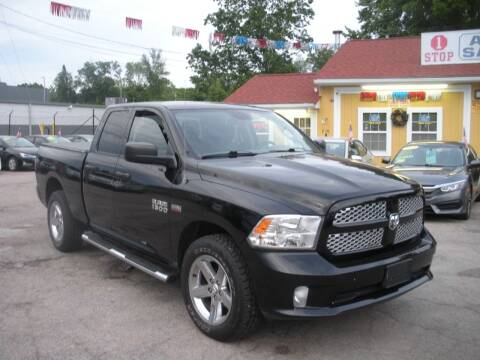 2013 RAM Ram Pickup 1500 for sale at One Stop Auto Sales in North Attleboro MA