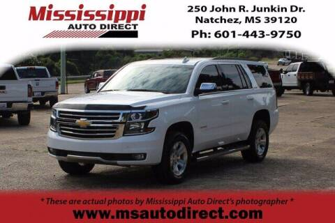 2016 Chevrolet Tahoe for sale at Auto Group South - Mississippi Auto Direct in Natchez MS