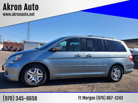2005 Honda Odyssey for sale at Akron Auto in Akron CO
