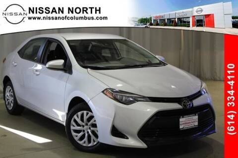 2018 Toyota Corolla for sale at Auto Center of Columbus in Columbus OH