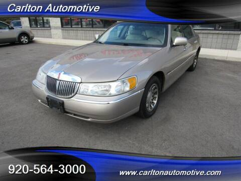 2001 Lincoln Town Car for sale at Carlton Automotive Inc in Oostburg WI