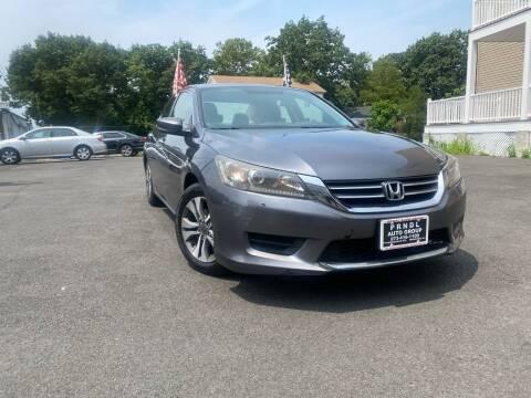2015 Honda Accord for sale at PRNDL Auto Group in Irvington NJ