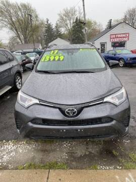 2017 Toyota RAV4 for sale at Mastro Motors in Garden City MI
