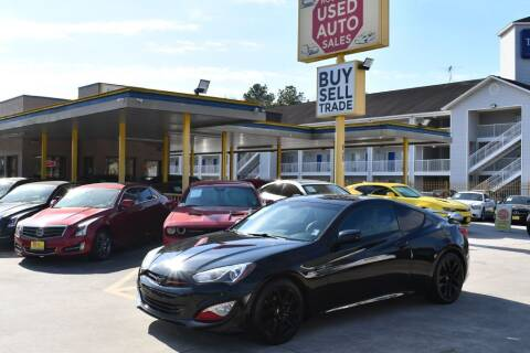 2014 Hyundai Genesis Coupe for sale at Houston Used Auto Sales in Houston TX