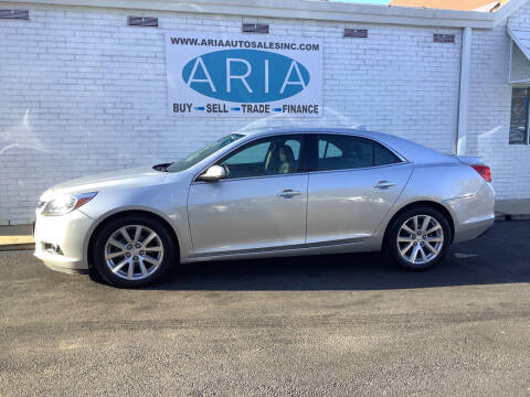 2016 Chevrolet Malibu Limited for sale at ARIA  AUTO  SALES in Raleigh NC
