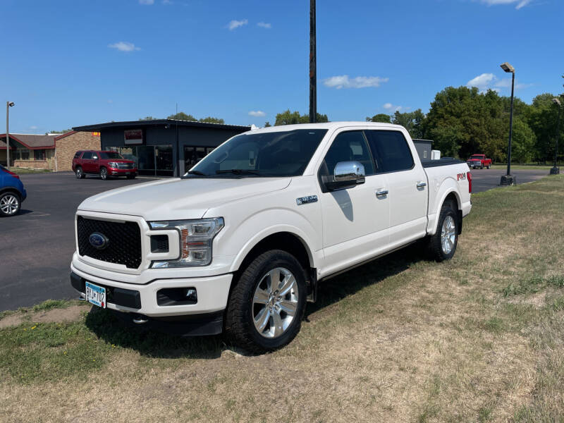 2018 Ford F-150 for sale at Welcome Motor Co in Fairmont MN