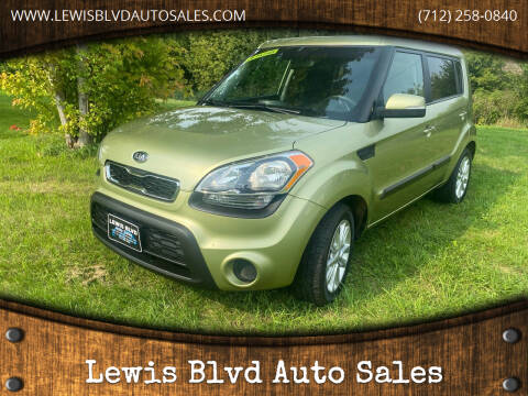 2012 Kia Soul for sale at Lewis Blvd Auto Sales in Sioux City IA