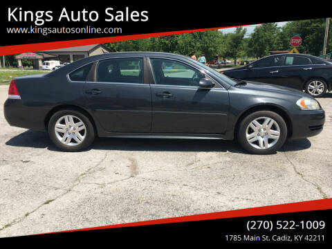 2013 Chevrolet Impala for sale at Kings Auto Sales in Cadiz KY
