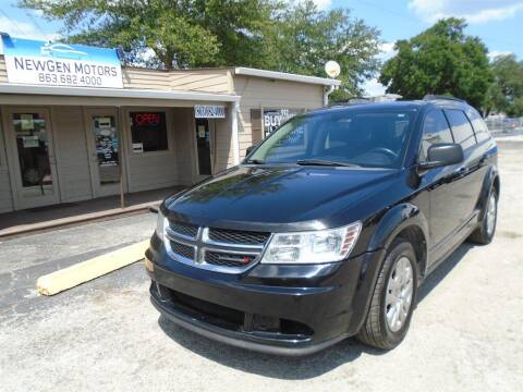 2017 Dodge Journey for sale at New Gen Motors in Lakeland FL