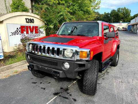 2007 HUMMER H3 for sale at Five Brothers Auto Sales in Roswell GA