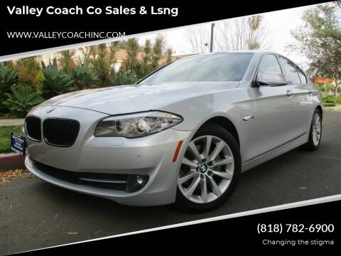 2011 BMW 5 Series for sale at Valley Coach Co Sales & Lsng in Van Nuys CA