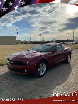 2011 Chevrolet Camaro for sale at MJ'S Sales in O'Fallon MO