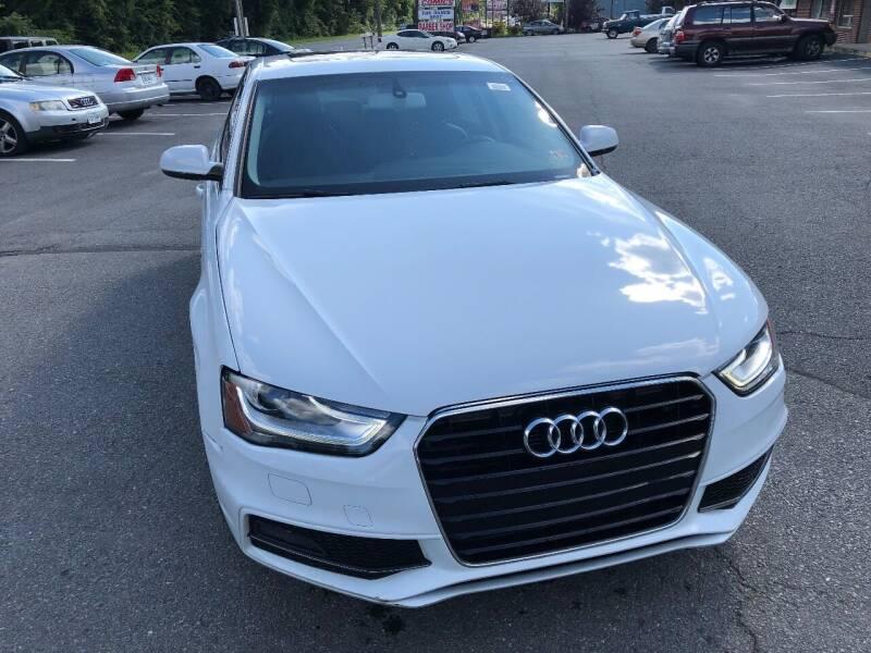 2014 Audi A4 for sale at REGIONAL AUTO CENTER in Fredericksburg VA