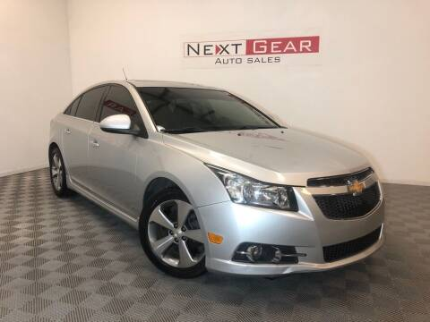 2011 Chevrolet Cruze for sale at Next Gear Auto Sales in Westfield IN
