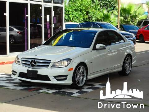 2012 Mercedes-Benz C-Class for sale at Drive Town in Houston TX