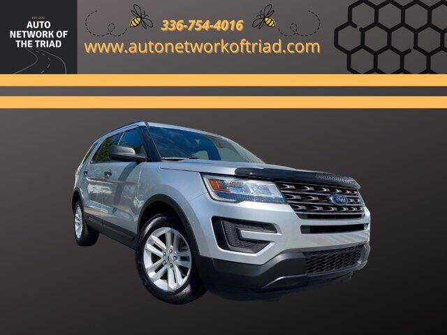 2017 Ford Explorer for sale at Auto Network of the Triad in Walkertown NC