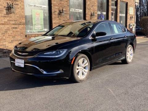 2016 Chrysler 200 for sale at The King of Credit in Clifton Park NY