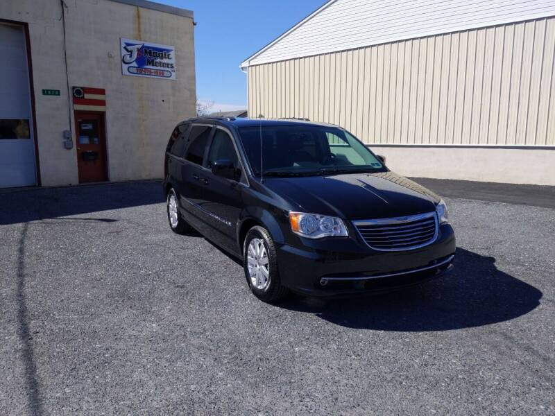 2015 Chrysler Town and Country for sale at J'S MAGIC MOTORS in Lebanon PA