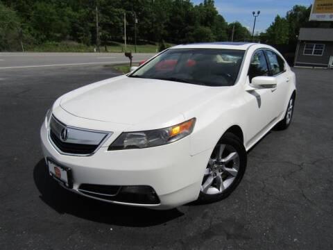 2012 Acura TL for sale at Guarantee Automaxx in Stafford VA