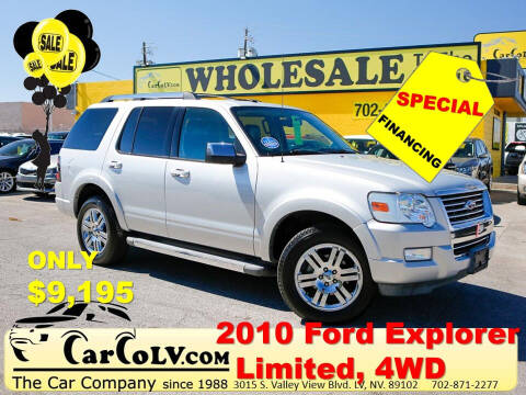 2010 Ford Explorer for sale at The Car Company in Las Vegas NV
