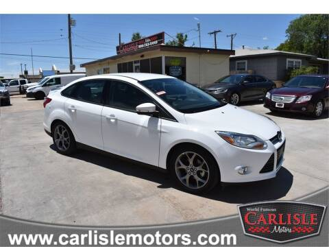 2014 Ford Focus for sale at Carlisle Motors in Lubbock TX