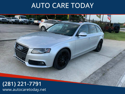 2010 Audi A4 for sale at AUTO CARE TODAY in Spring TX