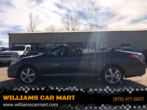 2008 Toyota Camry Solara for sale at WILLIAMS CAR MART in Gassville AR