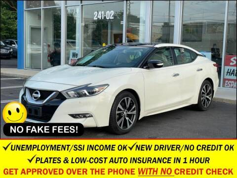 2017 Nissan Maxima for sale at AUTOFYND in Elmont NY
