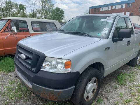 2005 Ford F-150 for sale at Trocci's Auto Sales in West Pittsburg PA