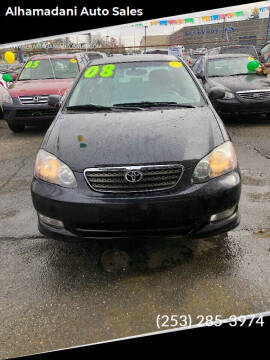 2008 Toyota Corolla for sale at ALHAMADANI AUTO SALES in Spanaway WA
