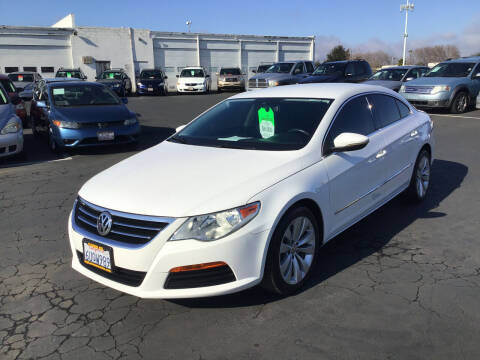 2012 Volkswagen CC for sale at My Three Sons Auto Sales in Sacramento CA