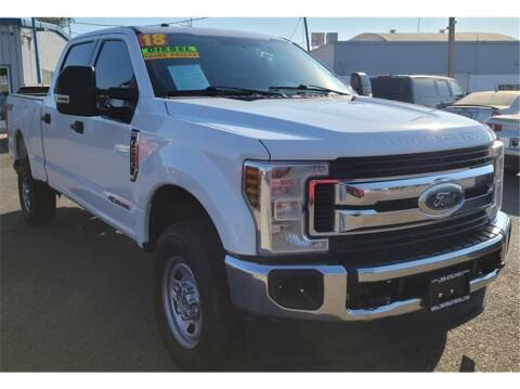 2018 Ford F-250 Super Duty for sale at ATWATER AUTO WORLD in Atwater CA