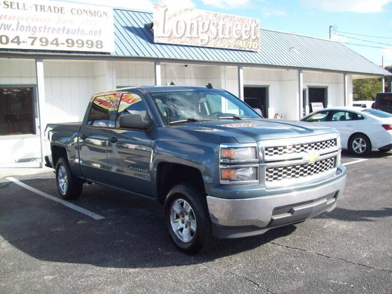 2014 Chevrolet Silverado 1500 for sale at LONGSTREET AUTO in St Augustine FL