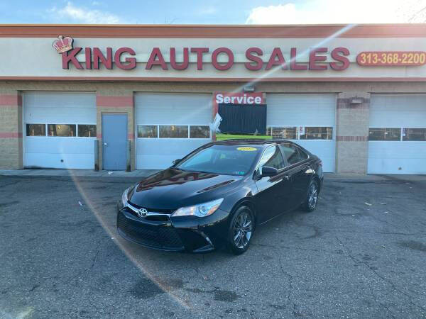2017 Toyota Camry for sale at KING AUTO SALES  II in Detroit MI
