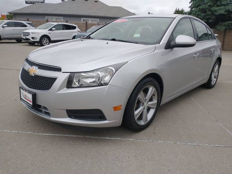 2013 Chevrolet Cruze for sale at Triangle Auto Sales 2 in Omaha NE