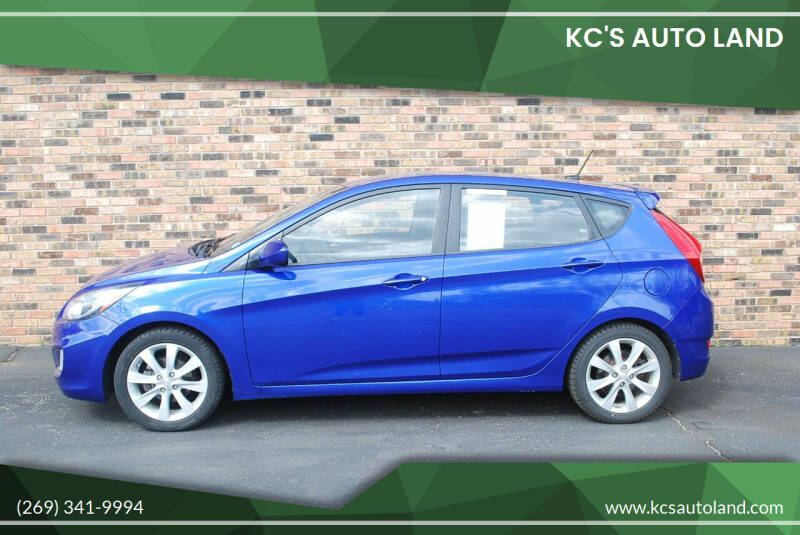 2012 Hyundai Accent for sale at KC'S Auto Land in Kalamazoo MI