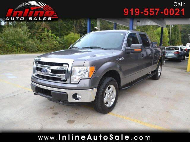 2014 Ford F-150 for sale at Inline Auto Sales in Fuquay Varina NC