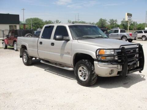 2005 GMC Sierra 3500 for sale at Frieling Auto Sales in Manhattan KS