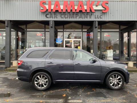 2014 Dodge Durango for sale at Siamak's Car Company llc in Salem OR