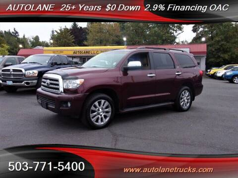 2011 Toyota Sequoia for sale at Auto Lane in Portland OR