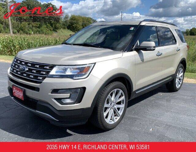 2017 Ford Explorer for sale at Jones Chevrolet Buick Cadillac in Richland Center WI