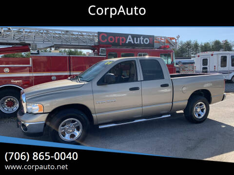 2004 Dodge Ram Pickup 1500 for sale at CorpAuto in Cleveland GA