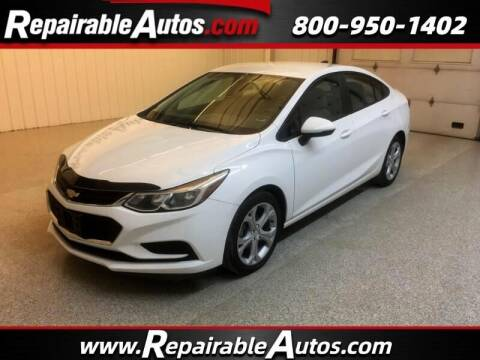 2016 Chevrolet Cruze for sale at Ken's Auto in Strasburg ND