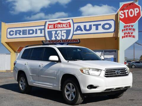 2008 Toyota Highlander for sale at Buy Here Pay Here Lawton.com in Lawton OK