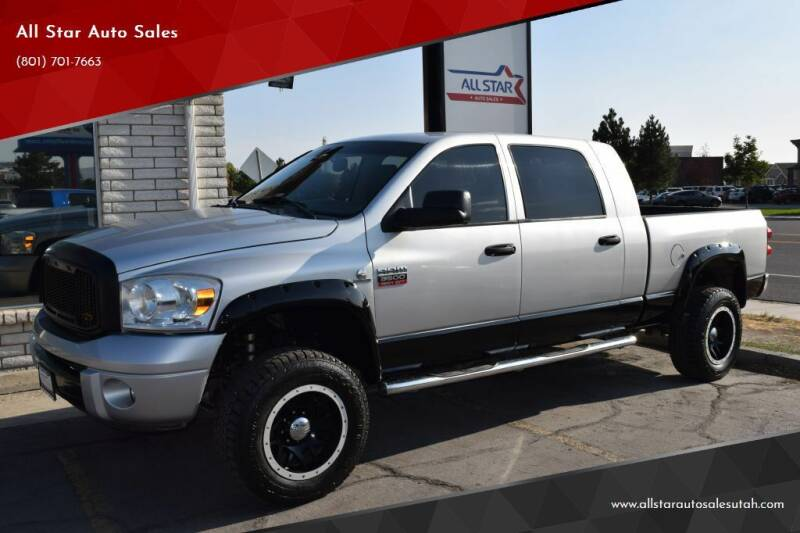2008 Dodge Ram Pickup 3500 for sale at All Star Auto Sales in Pleasant Grove UT