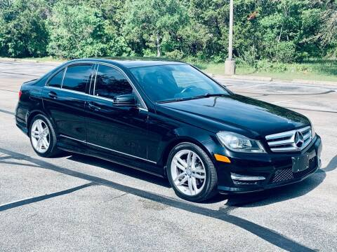 2013 Mercedes-Benz C-Class for sale at Luxury Motorsports in Austin TX