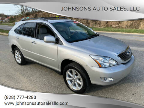 2009 Lexus RX 350 for sale at Johnsons Auto Sales, LLC in Marshall NC